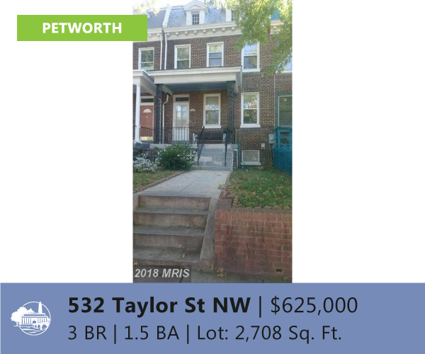 Invest in Petworth DC