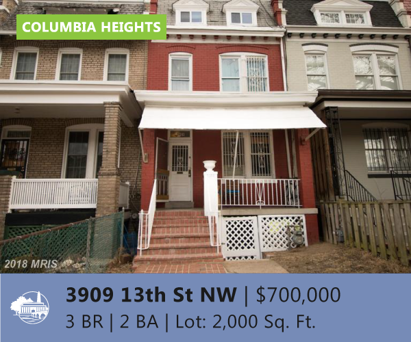 Invest in Columbia Heights DC