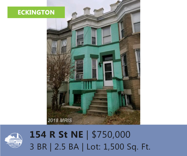 Invest in Eckington DC