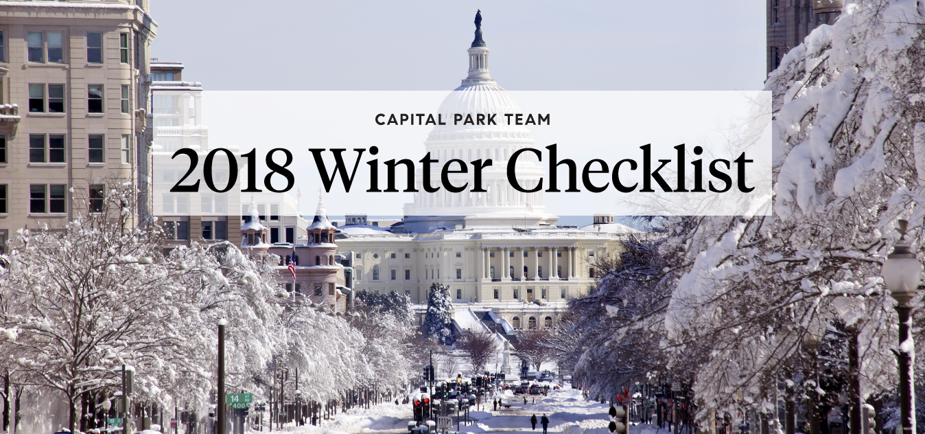 homeowner winter checklist