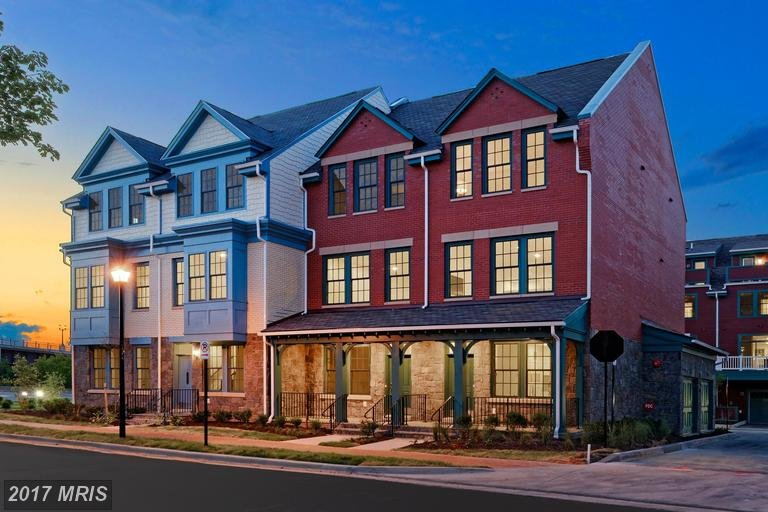 Powhatan at Potomac Yard town homes for sale