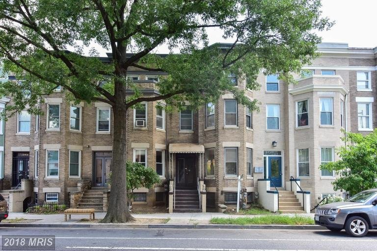 row house for sale in columbia heights